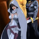 Crossover Heroes - [Online SuperHeroes] - Ghost Dominated and Fucked Hard by Kade