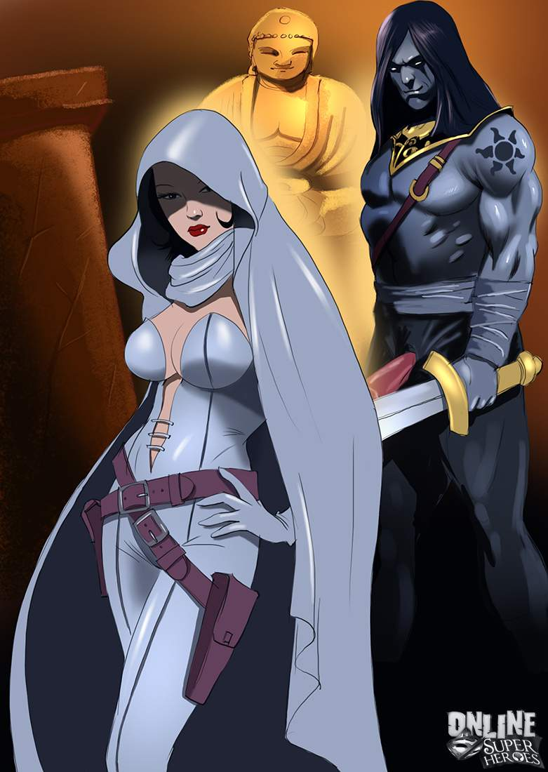 SureFap xxx porno Crossover Heroes - [Online SuperHeroes] - Ghost Dominated and Fucked Hard by Kade