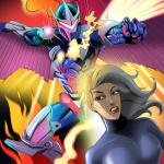 Marvel Universe & Marvel Comics - [Online SuperHeroes] - Hot Blonde Lets Darkhawk Do Each and Every Hole In Her!
