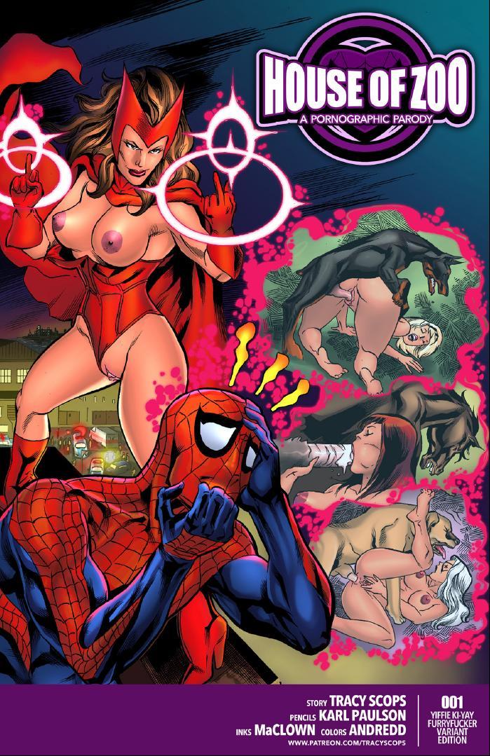 SureFap xxx porno Spider-Man - [Tracy Scops] - House of Zoo