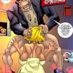 Crossover - [MonsterBabeCentral] - The Fraternal Order of Monstrous Gentlemen! - Issue 13 - Franklin's Attack