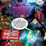 Crossover - [MonsterBabeCentral] - The Fraternal Order of Monstrous Gentlemen! - Issue 5 - Swamp Monster