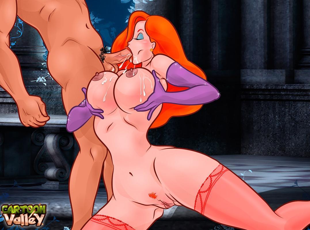 SureFap xxx porno Who Framed Roger Rabbit - [CartoonValley][NEW] - Jessica Rubs Man's Balls Between Her BIG Boobs & Sucks His Dick