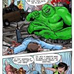 The Powerpuff Girls - [MonsterBabeCentral] - Monster Channel - Kickass Chicks - Green Monster