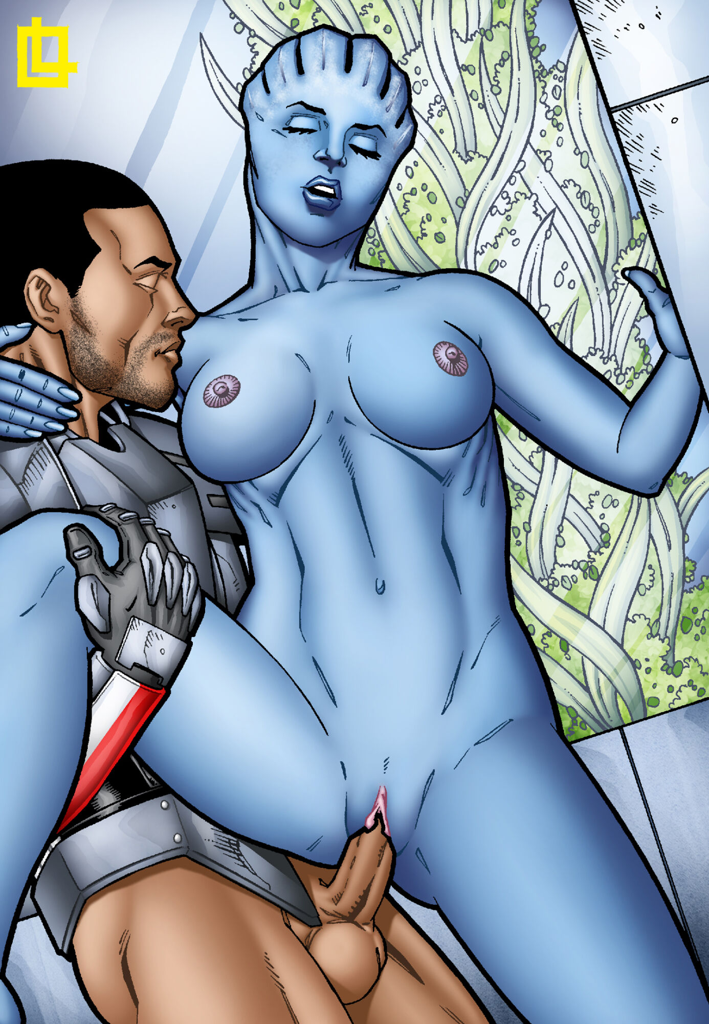 SureFap xxx porno Mass Effect - [Leandro Comics] - Liara and Shepard Get It On In Her Bedroom!