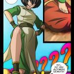 Avatar the Last Airbender - [Comics-Toons] - The Foot Fetish - Toph Bei Fong Doing Footjob - Magic Rape