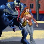 Spider-Man - [Online SuperHeroes] - Mary Jane Getting Fucked Hard by Venom