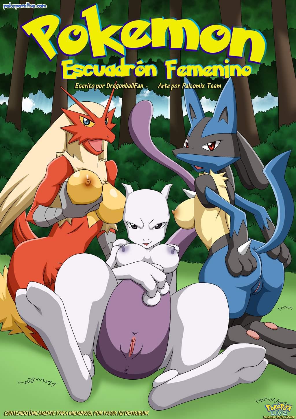 SureFap xxx porno Pokemon - [Palcomix][PokepornLive] - Pokemon Female Squad - Pokemon Escuadron Femenino