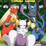 Pokemon - [Palcomix][PokepornLive] - Pokemon Female Squad