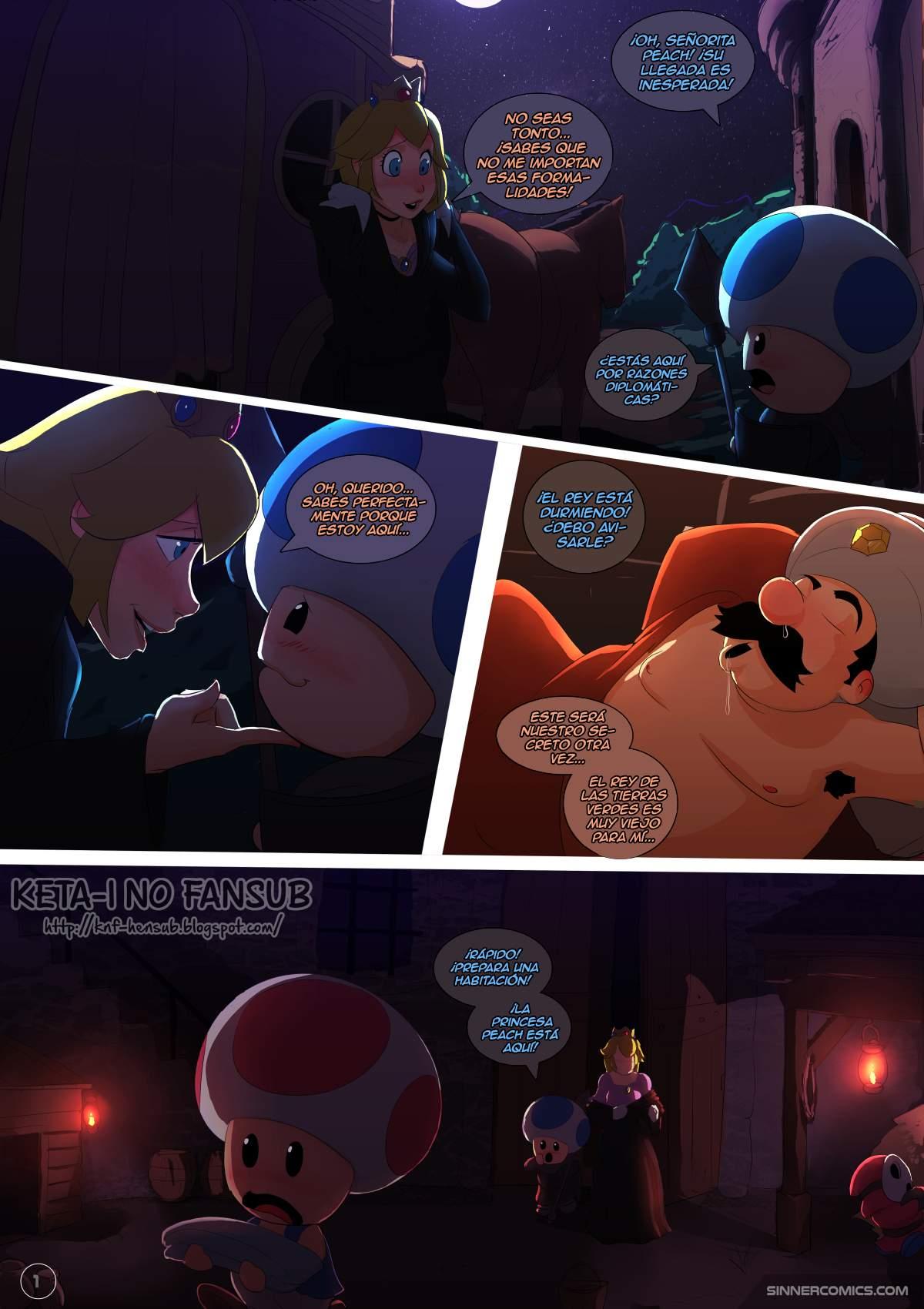 SureFap xxx porno Super Mario Bros - [Sinner (Sillygirl)] - Princess Peach