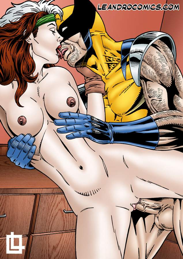 SureFap xxx porno X-Men - [Leandro Comics] - Rogue Fucked Hard By Wolverine