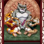 Kung Fu Panda - [Palcomix][Fur34] - Tai Lung's Yiffing