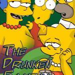 The Simpsons - [Comics-Toons] - The Drunken Family