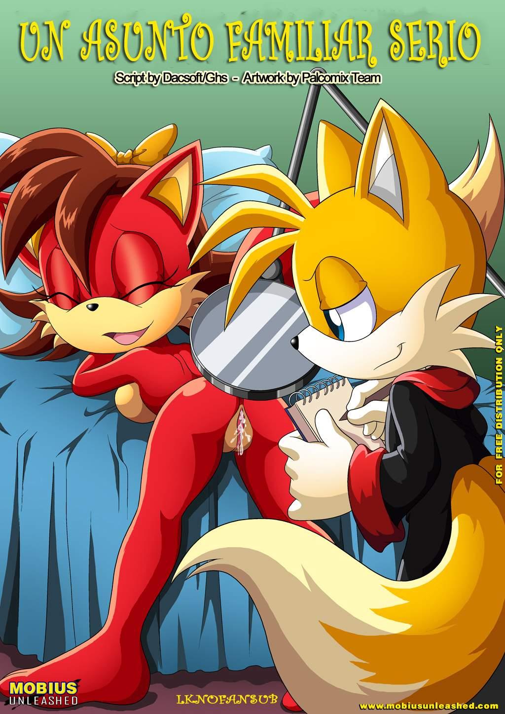 SureFap xxx porno Sonic - [Palcomix][Mobius Unleashed] - The Prower Family Affair 1