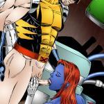 X-Men - [Leandro Comics] - Wolverine Fucking Dirty Mystique