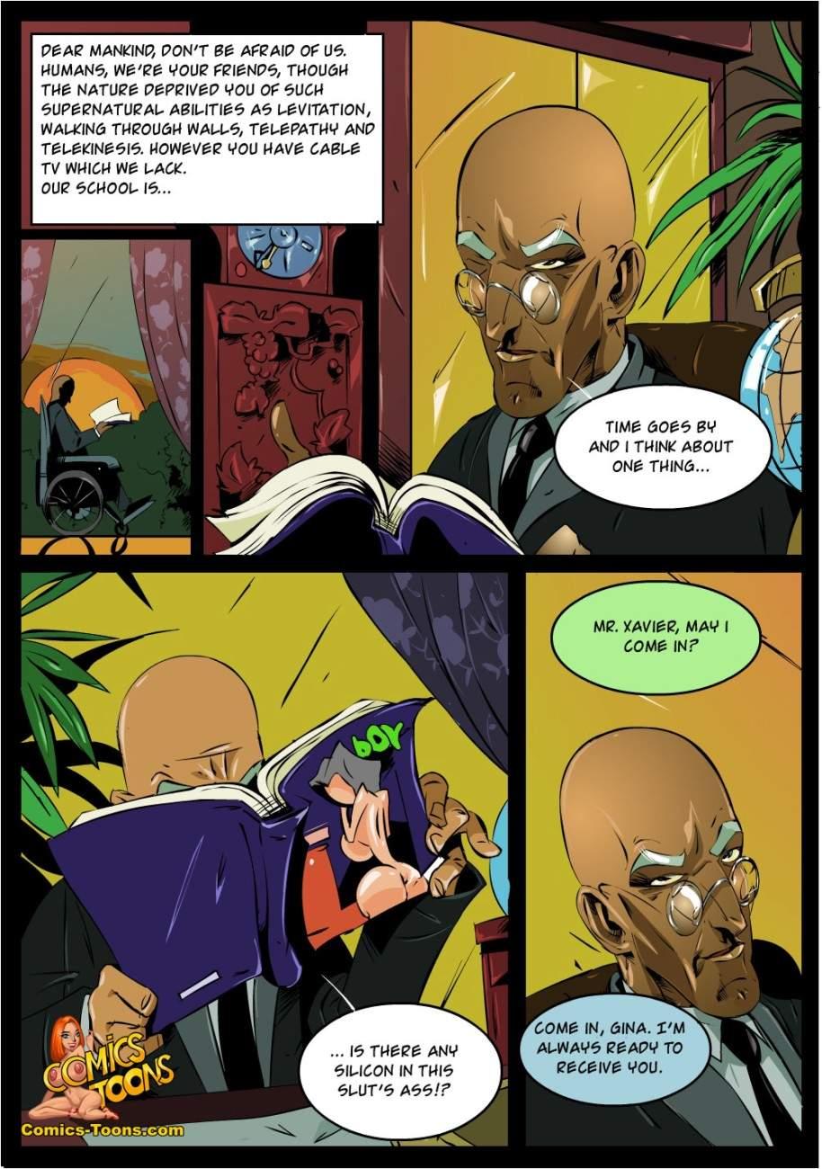 SureFap xxx porno X-Men - [Comics-Toons][Okunev] - X-Men Files 1 - A Typical Day of Heroes