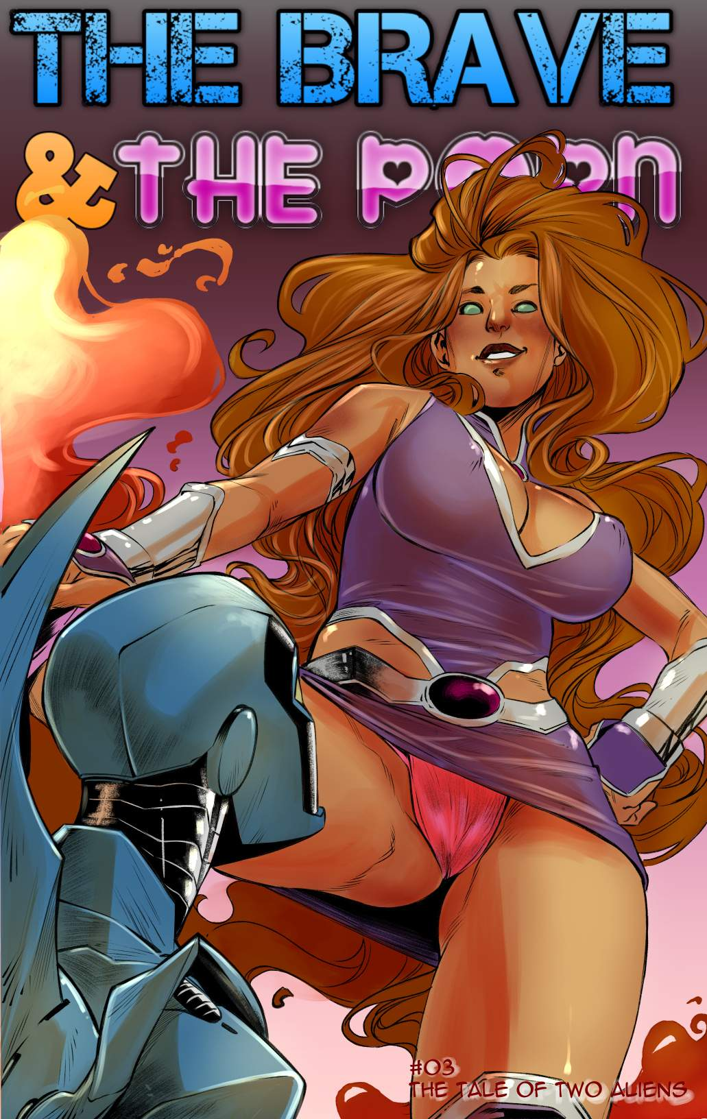 SureFap xxx porno Young Justice - [Bayushi] - Brave and the Porn #3