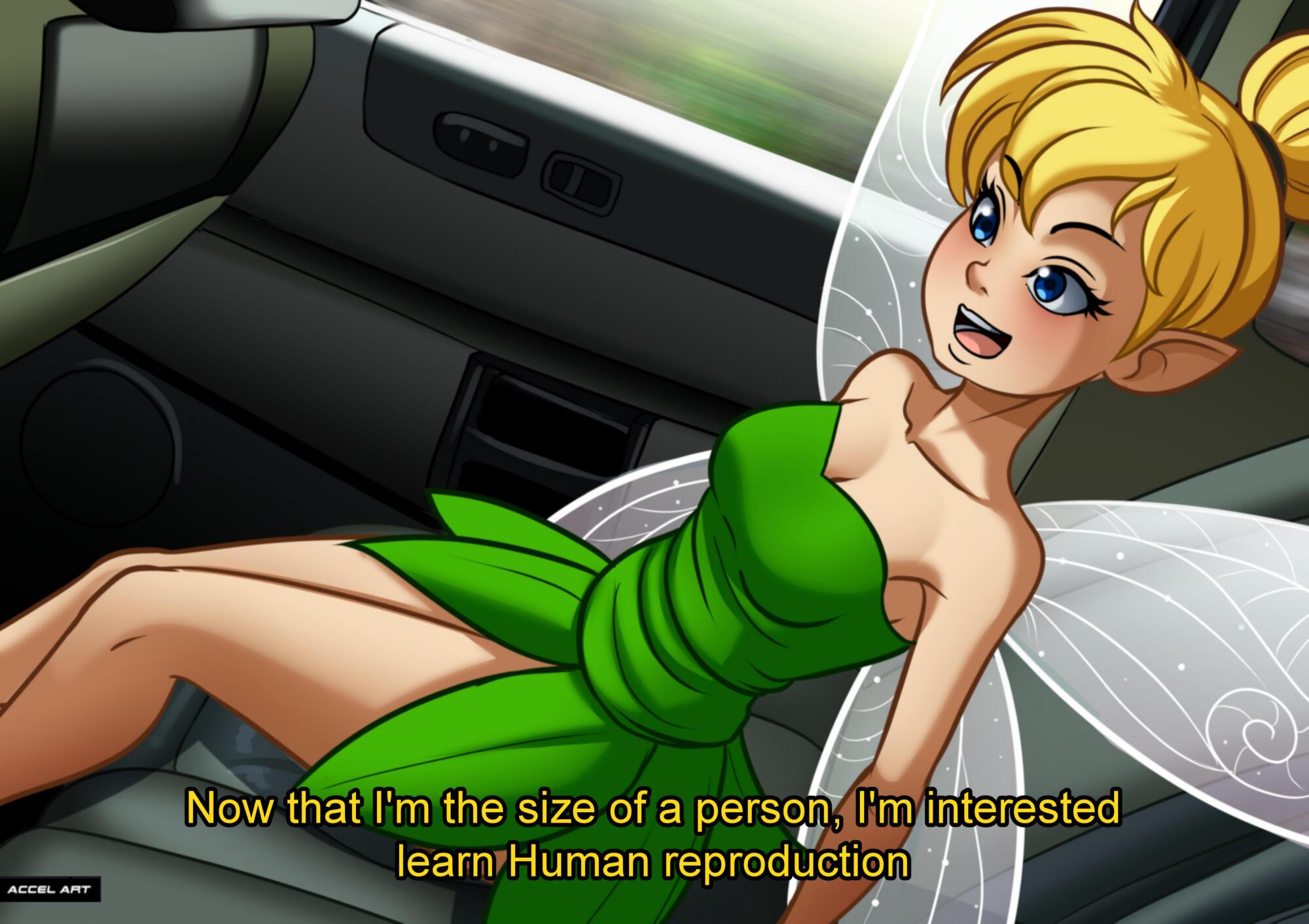 SureFap xxx porno Peter Pan - [Accel Art] - Tinker Bell  - Waifu Taxi